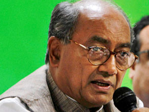 Digvijay Singh begins fast on issues of farmers