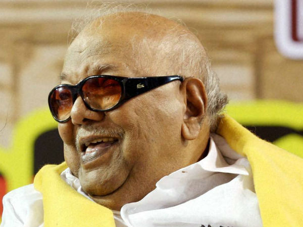 Karunanidhi appreciates union budget 2014