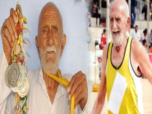 At 84 years of age, man wins 4 gold medals in athletics