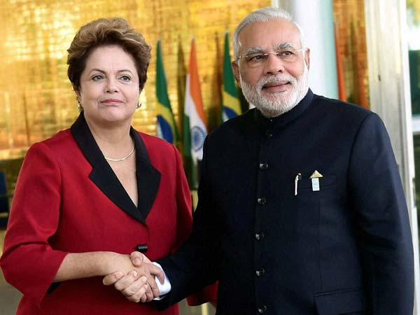 India signs three deals with 'key global partner' Brazil