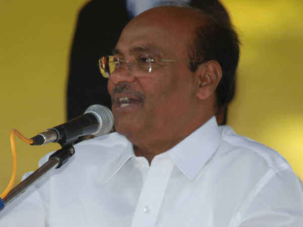 Article 110: Ramadoss slams Jaya