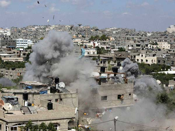 Palestinian death toll in Gaza fighting at 501, UNSC calls for immediate ceasefire