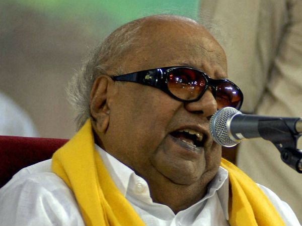 Karunanidhi urges centre to take back the cancellation of Paddy subsidy