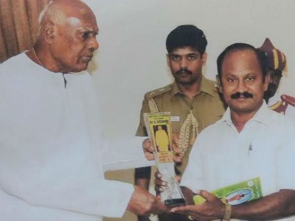 Paramakudi Siddha doctor honored with Lifetime achievement award