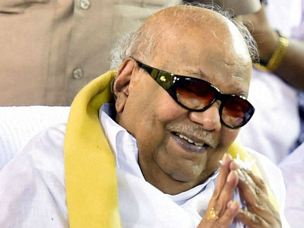 Karunanidhi refuses to react to reports about patch up with Alagiri