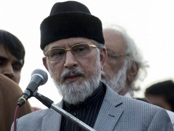 Cleric Qadri issues 24-hour deadline for Nawaz Sharif to resign