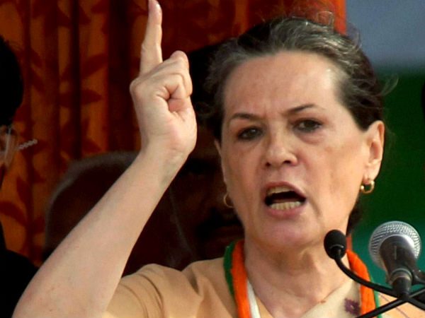 Sonia campaigns in Haryana