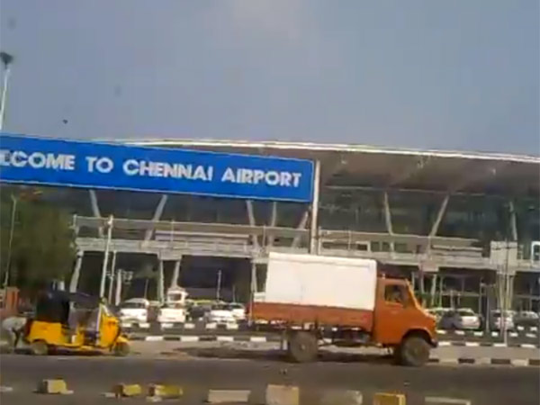 Chennai airport top glass roof damaged again