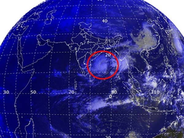 New cyclone Ashoba near Andaman