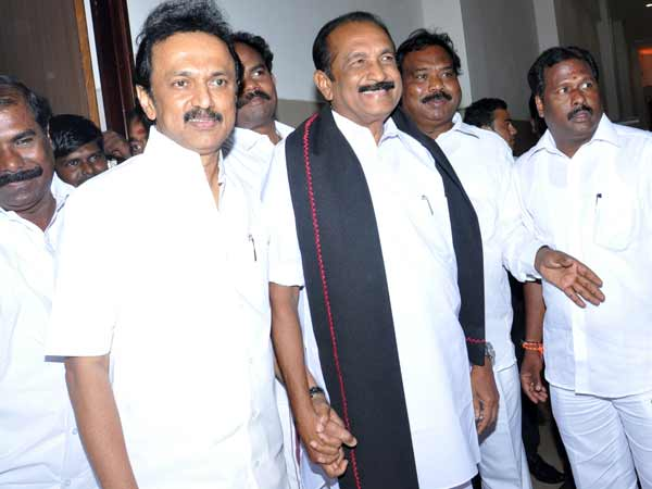 Murasoli carries Vaiko - Stalin meeting in small way