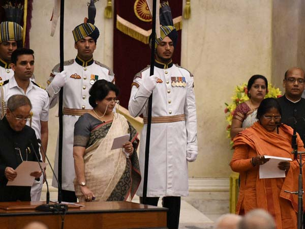 Cabinet reshuffle: Women representation in Modi ministry goes upto 8