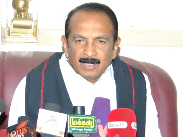 Vaiko urges centre to relax age limit for IAS, IPS exams