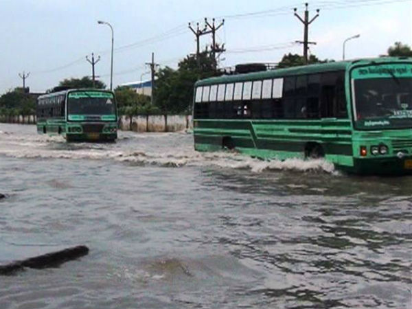Nellai district filled with heavy rain