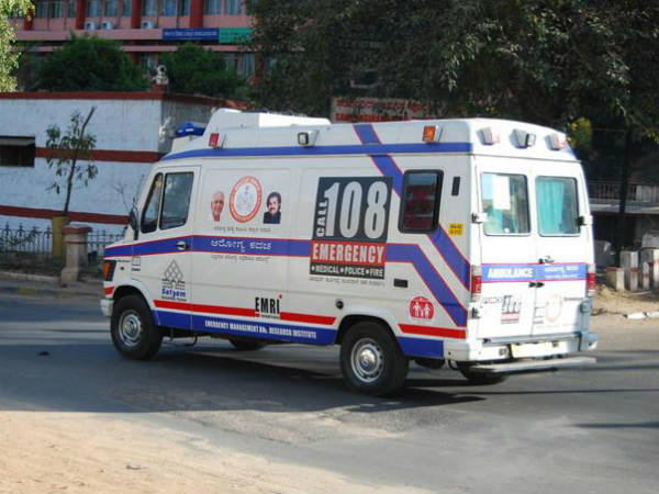 Server problem: 108 ambulance service has a temporary number