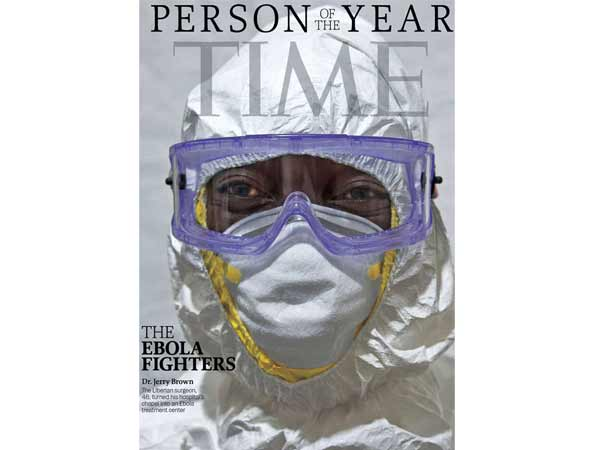 'Time' names 'Ebola fighters' as Person of the Year