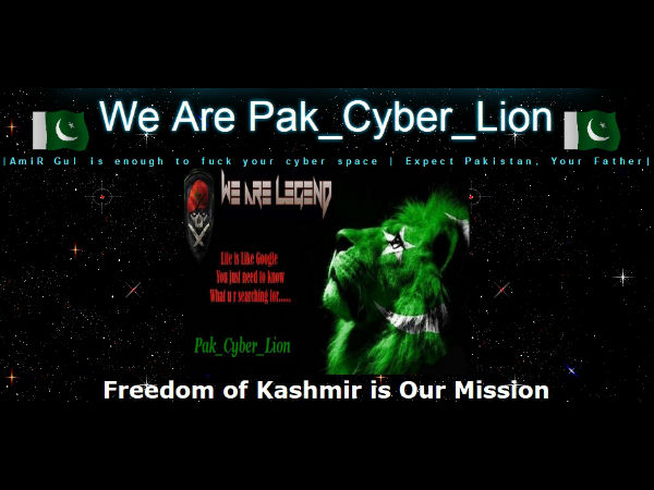 Websites have been hacked by cyber criminal