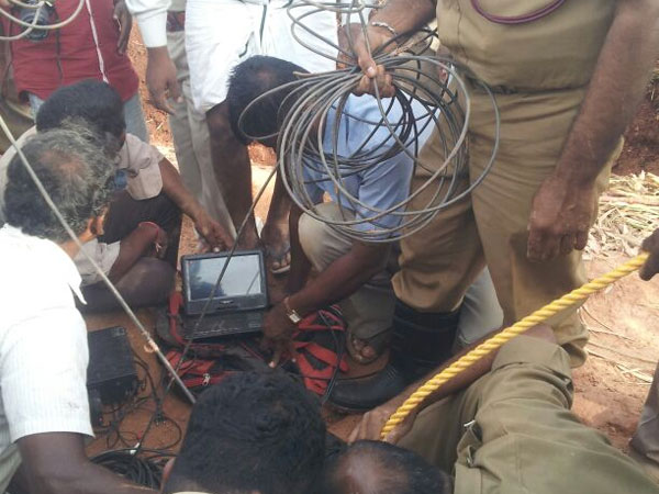14-month-old boy falls in borewell, rescue efforts on