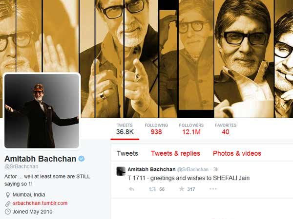 Amitabh is the king of Twitter