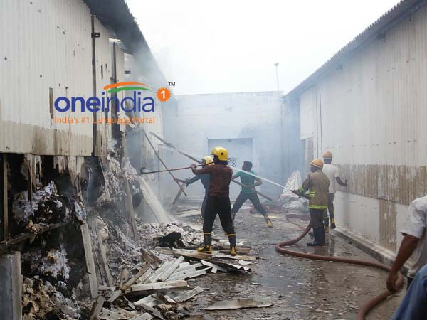 Major fire gutted cotton mill in Karur