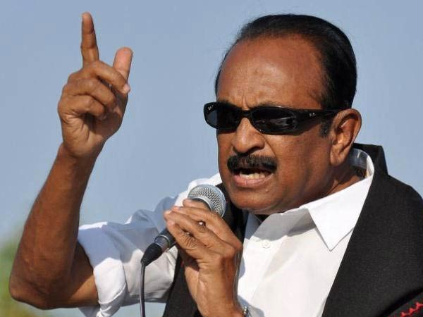 Vaiko condemns Rajapakse's interview to be telecast in a Tamil channel