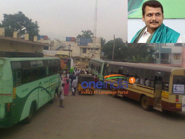 Bus strike hits Transport minister's district