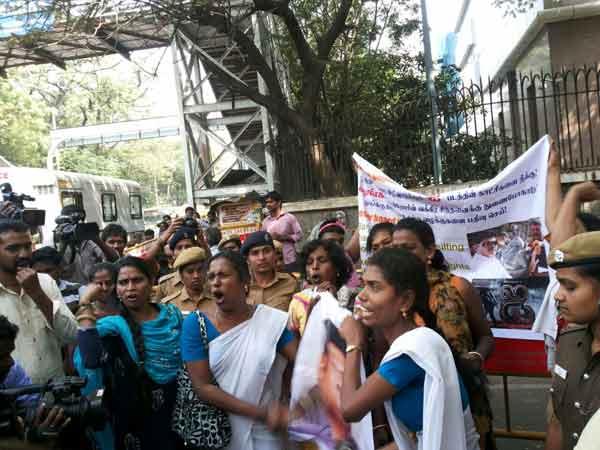 protest transgender shankar i