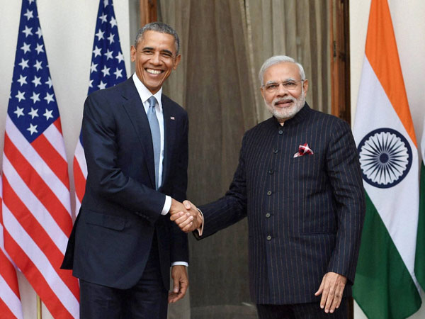 Obama and Modi jointly addressed press in Delhi