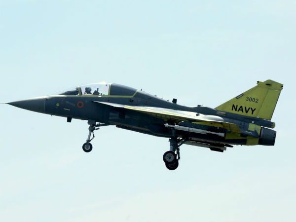 Second prototype of LCA naval variant maiden flight successful