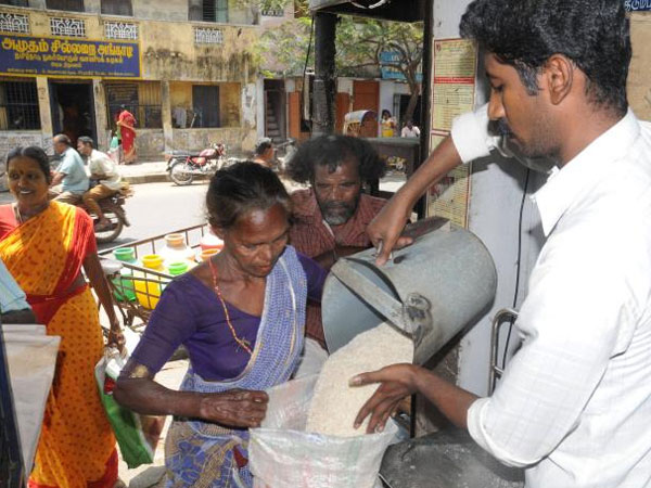 Ration subsidy debited directly into housewife's account