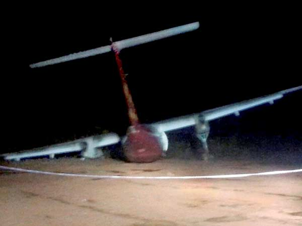 Spice Jet flight skids off runway at Hubli, all 78 on board safe