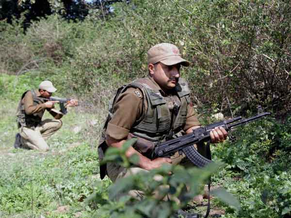 Two security personnel killed, civilian injured in fierce gun battle between security forces