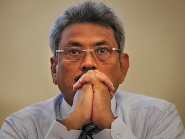Gotabaya Rajapaksa at Bribery Commission