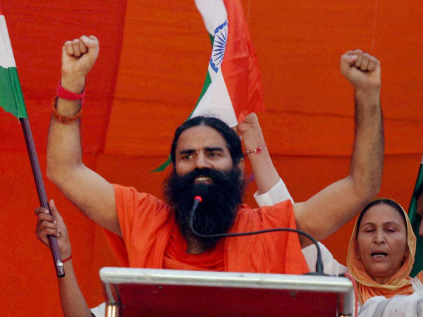 Opposition protests over Ramdev's medicine 'Putrajeevak Beej' promises birth of male child