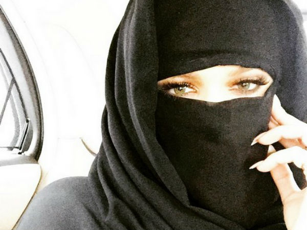 Khloe Kardashian draws criticism for wearing niqab