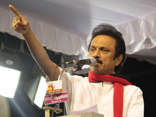 M.K.Stalin condemns Salem corporation clash