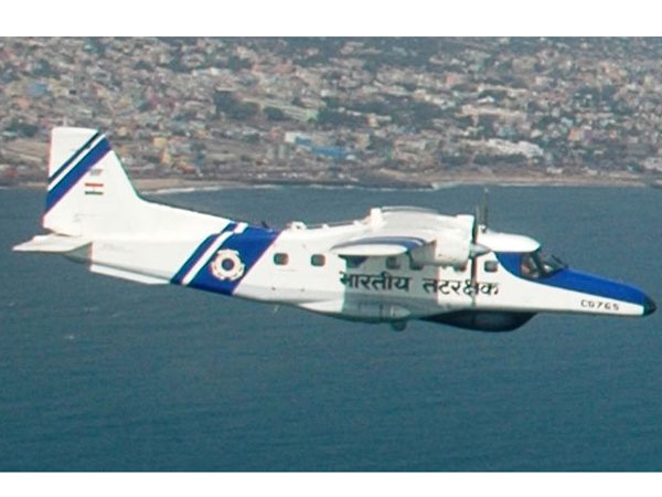 Missing ICG plane found under sea