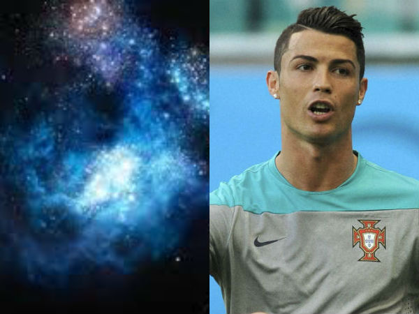 Newly discovered galaxy named after Cristiano Ronaldo