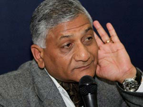 LALITGATE: VK SINGH DEFENDS MEA ON REFUSING REPLY TO RTI QUERY
