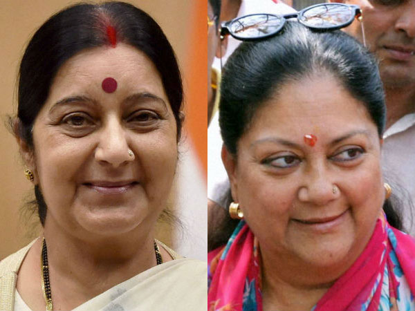Congress 'offers' government a deal-Axe Sushma Swaraj, Vasundhara Raje, get GST bill nod