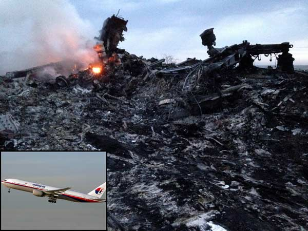 Malaysian Airlines flight shot down by pro-Russian rebels: investigative report