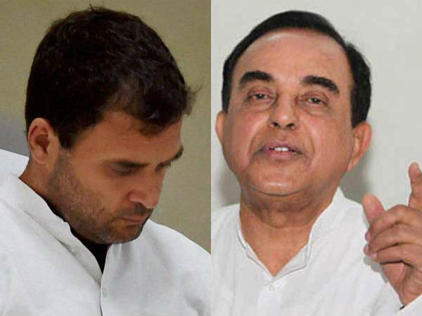 Rahul Gandhi was caught in US with drugs, Vajpayee got him released: Swamy