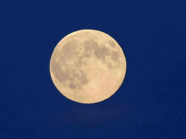 Rare blue moon comes Friday