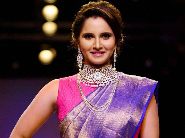 Sania Mirza Expresses Love for Jewellery