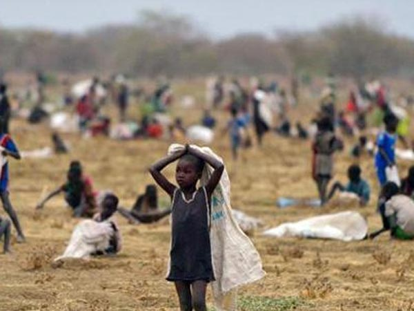 Over 7,000 face starvation in South Sudan