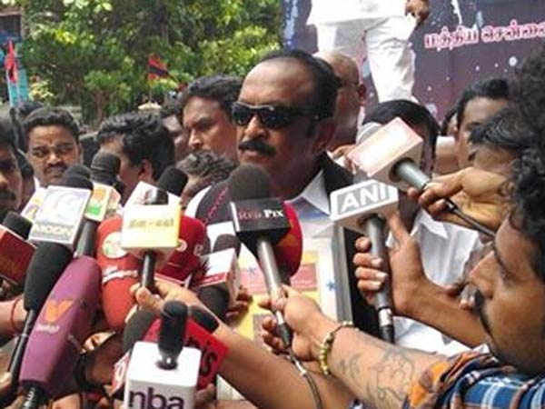 Vaiko condemns US Consulate