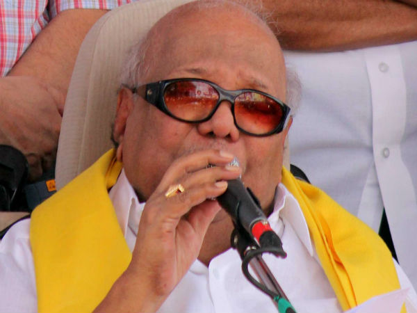 TN government should help UP people to eruct Thiruvalluvar statue : Karunanidhi