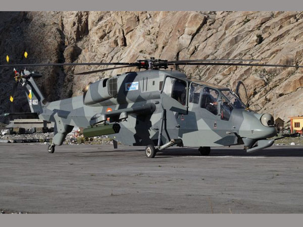 LCH becomes first attack helicopter to land at Siachen