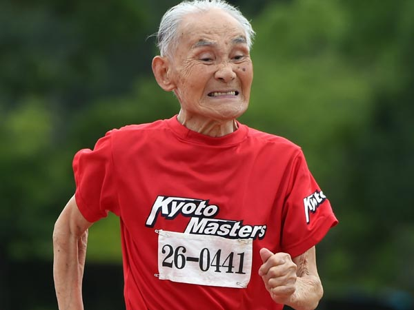 105-Year-Old Man Sets World Record by Completing 100-Meter Sprint