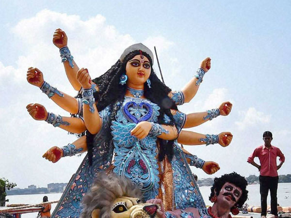 Muslims celebrate Durga Puja in Tripura