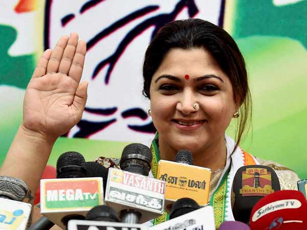 BJP Remains an Unknown party in TN, Says Kushboo